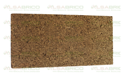 Plaque de liège naturel poncée 30mm