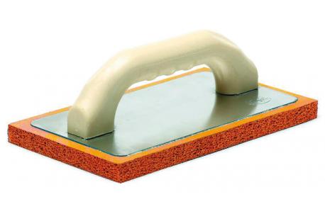 Taloche gomme orange pour enduit traditionnel