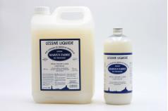 Lessive liquide aux copeaux de Savon de Marseille MARIUS FABRE 1L et 5L
