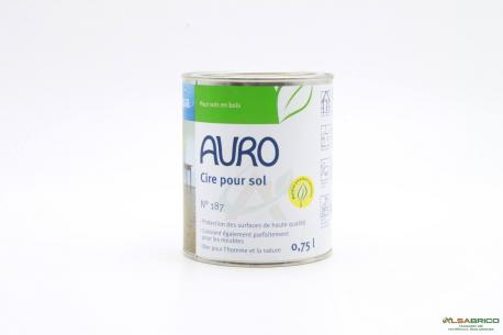 Cire pour sols n°187 AURO - Face 0.75l