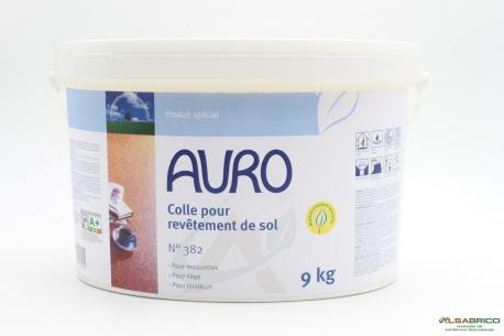 Colle pour revêtement de sol n°382 AURO - Face 9kg