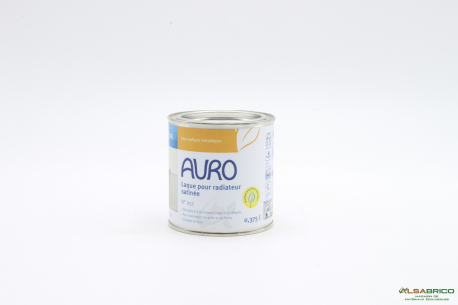 Laque pour radiateurs AQUA n°257 AURO - Pot de 0.375L face