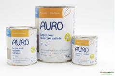 Laque pour radiateurs AQUA n°257 AURO - Groupe 3 conditionnements