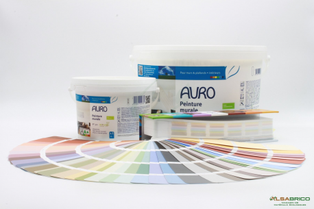 Peinture respirante Replebin n°321 AURO - 2 conditionnements + nuancier