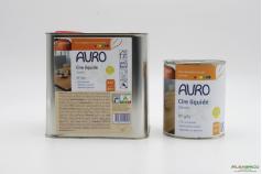 Cire pour bois végétale n°981 AURO - 2 conditionnements