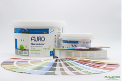 Peinture Plantodecor Premium n°524 AURO - Conditionnements + nuancier