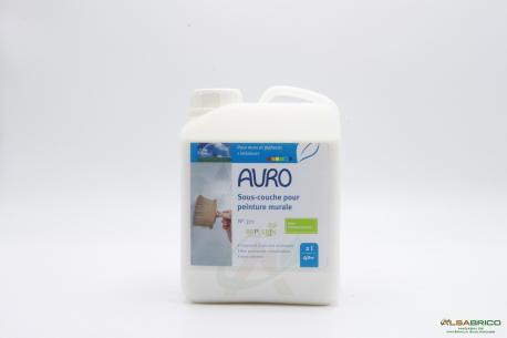 Sous-couche lisse pour peinture murale n°301 AURO - Pot de 2L face