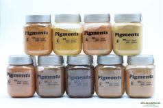Pigment naturel pour enduits décoratifs muraux - GROUPE 1