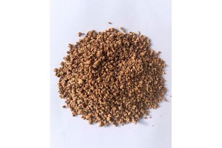 Granulat de liège issu de bouchons de liège 0-5mm SOLIDALIEGE