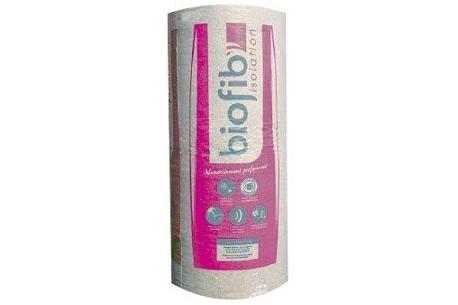 BIOFIB TRIO - Rouleau isolant de laine de coton, chanvre et lin