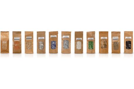 Charges minérales et végétales pour enduits à l'argile ARGILUS