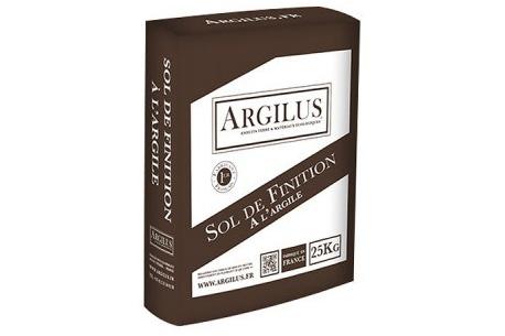 Sol de finition à l'argile ARGILUS