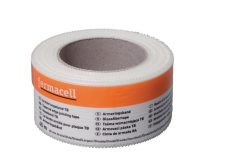 Fermacell - Rouleau de bande armé pour renfort de joints de plaques - Alsabrico